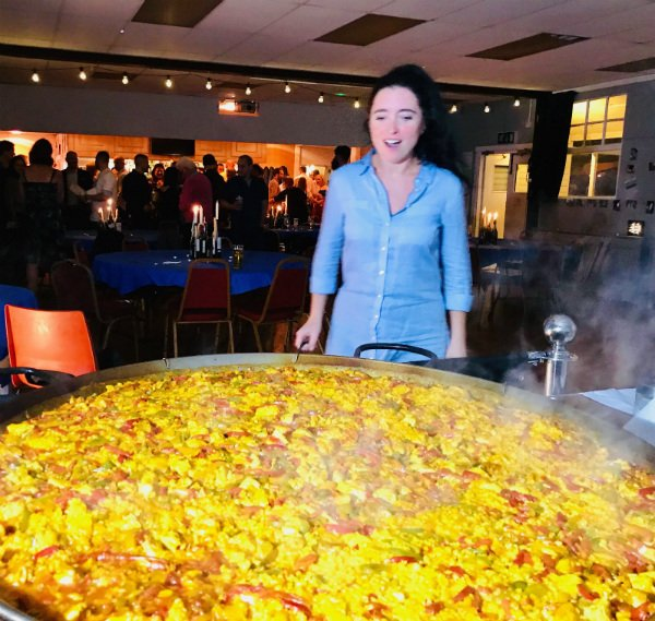 paella catering in london